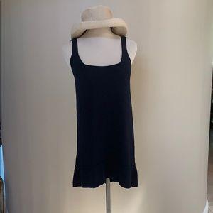 Magaschoni Navy Knit Hi-Lo Dress/Tunic. XS
